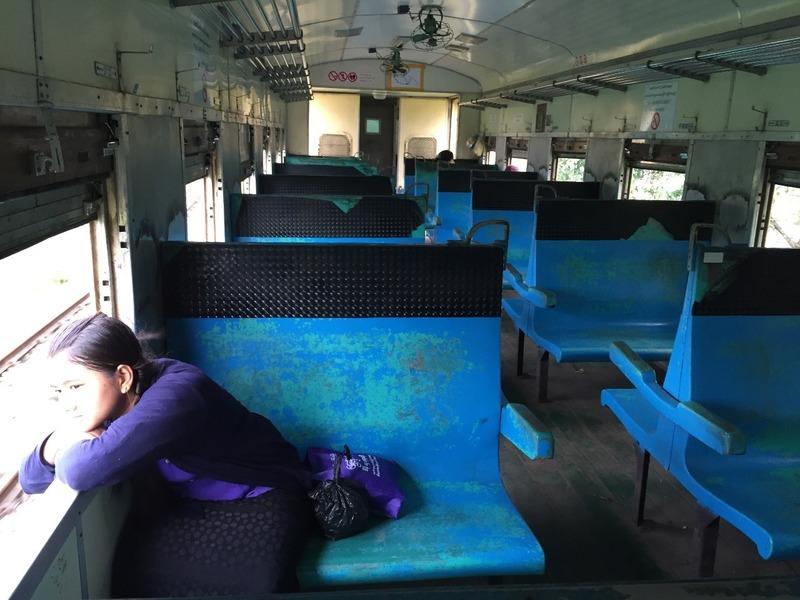 My carriage was pretty empty