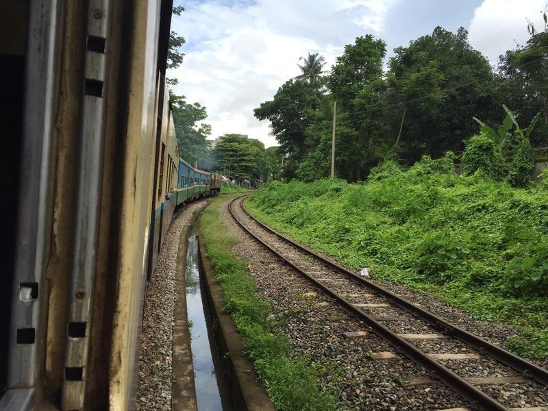 On the circular train
