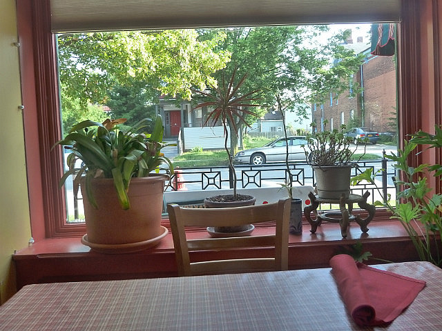 Outlook from my table