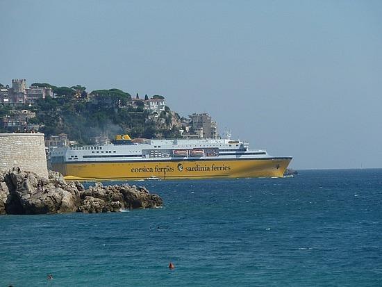 Ship to Corsica