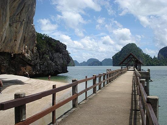 Other side of James Bond Island