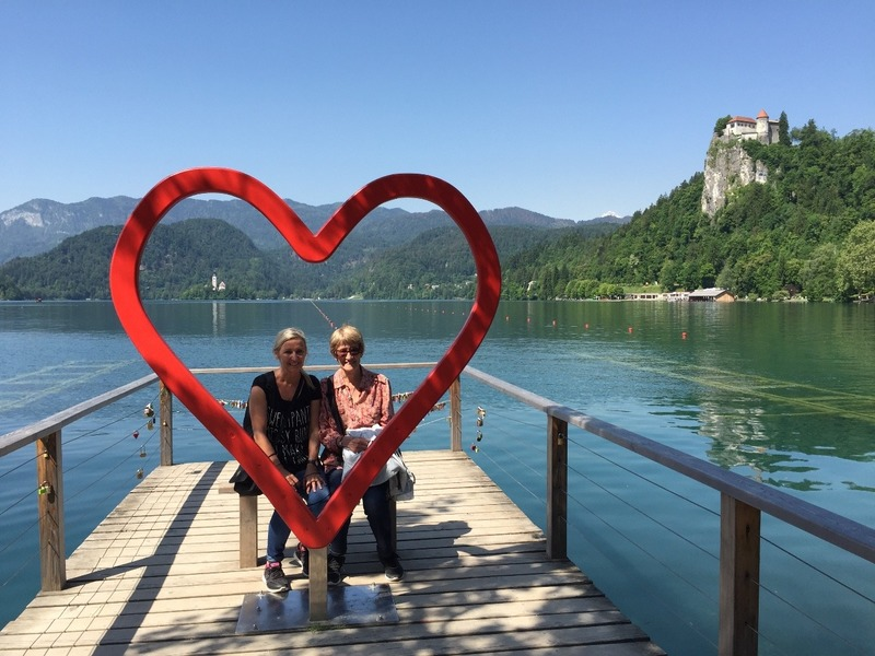 Last photo of Lake Bled before leaving