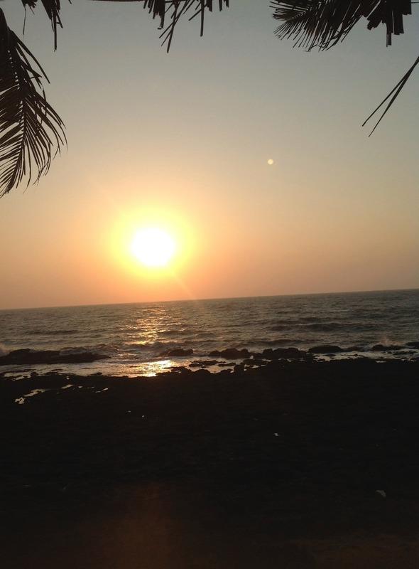 Sunset in Goa