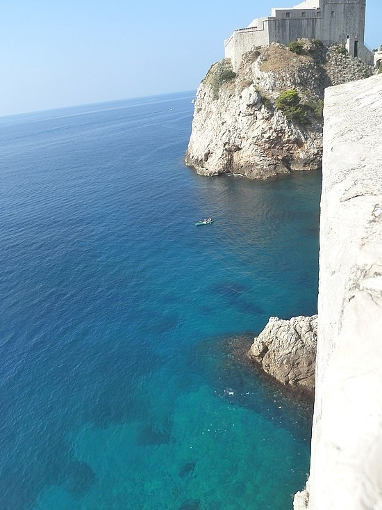 Cliffs and amazing water