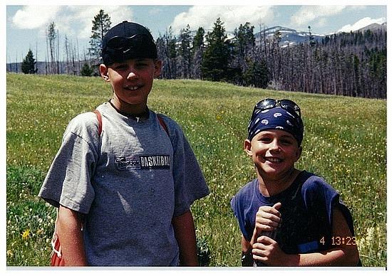 Michael & Nick- Bighorn Nat Park
