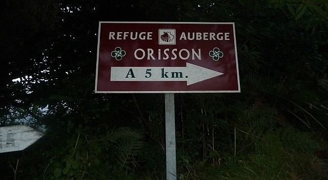 Sign to Orrison