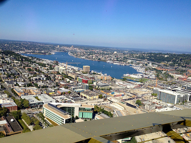 View over Lake union