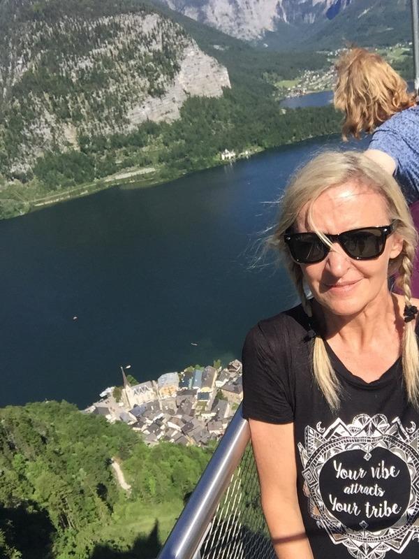 Looking down to Hallstatt