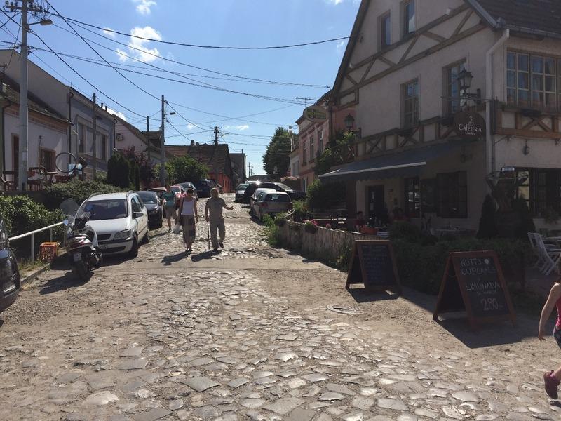 Zemun  cobblestoned streets