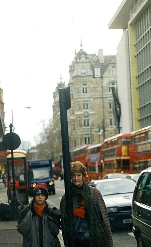 Michael & Mum in London