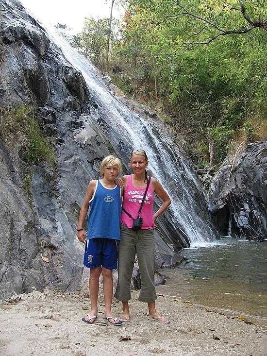 Waterfall we camped beside