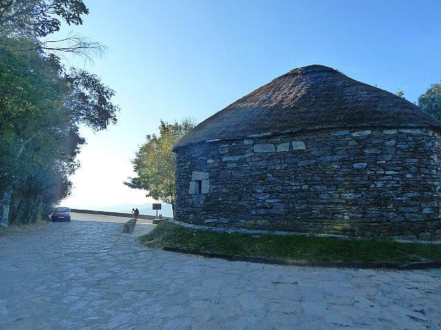 Thatched round houses of O Cebreiro