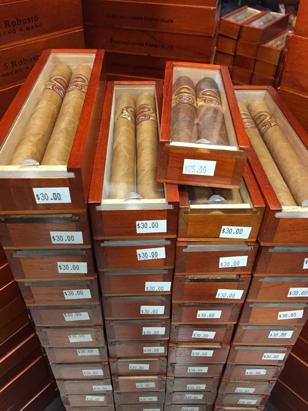 Check out the price of these cigars