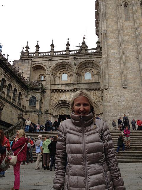 Looking cold in Santiago