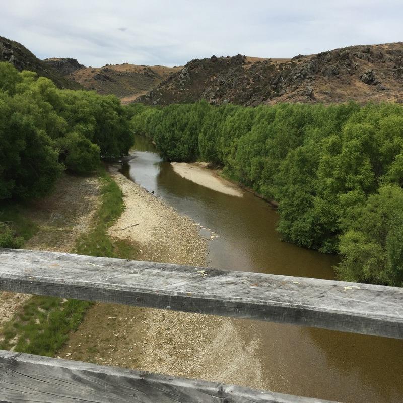 Lovely sandy banked river