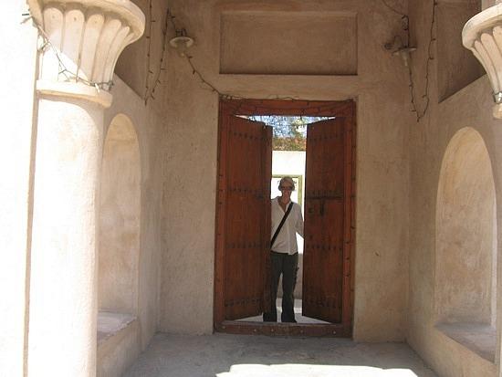 Loved the big wooden doors