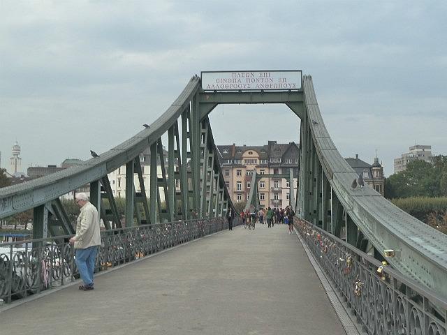 Walked over this bridge