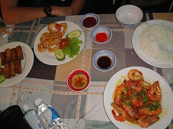 Yummy squid & prawns