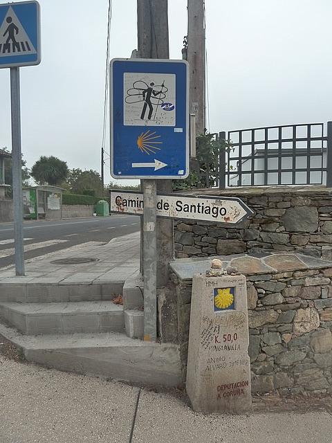 50km to Santiago