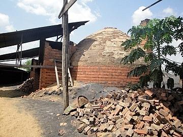 Te brick kiln