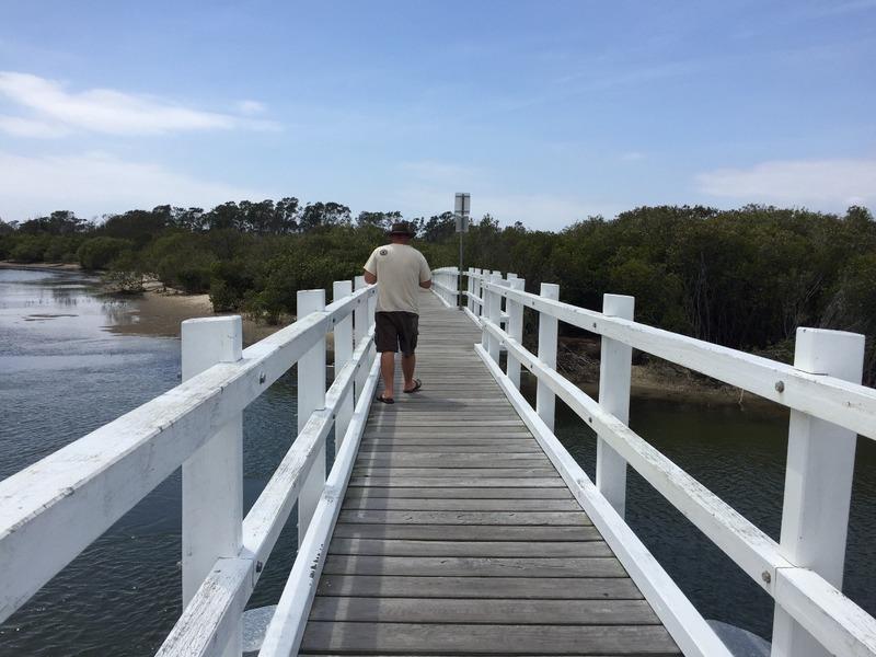 The bridge at Stuarts Point