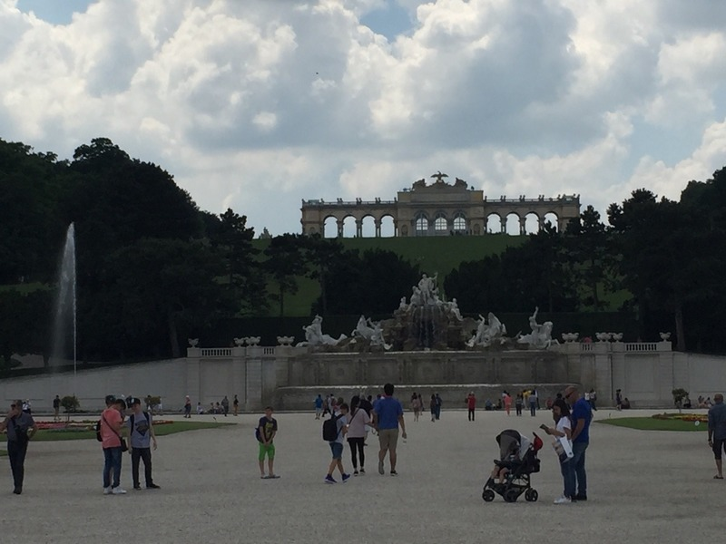 Fountains and Gloriette Viewing terrace