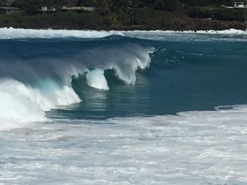 Still some big waves