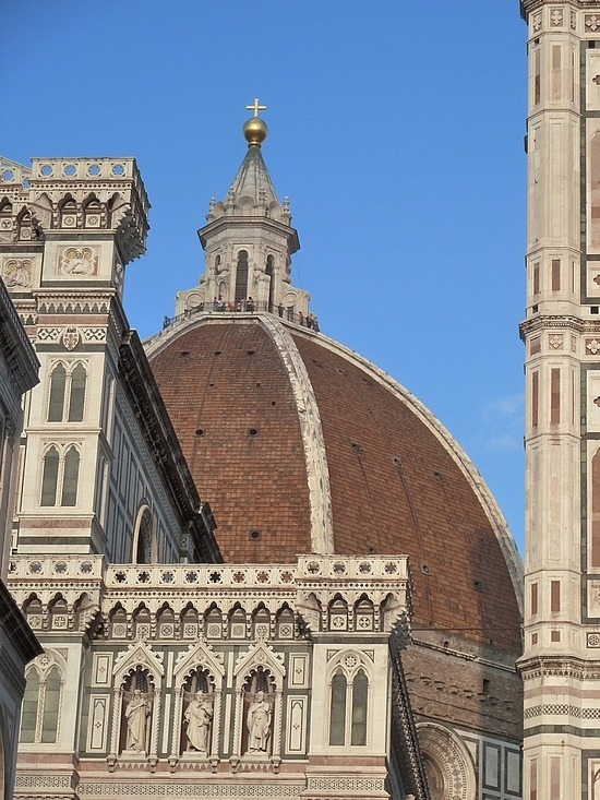 The ribbed dome in Florence