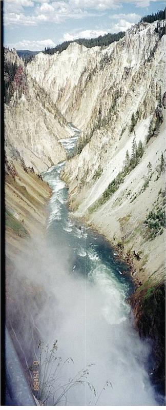 Grand canyon of Yellowstone Nat Park