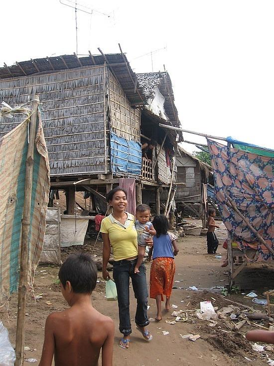 Poor village