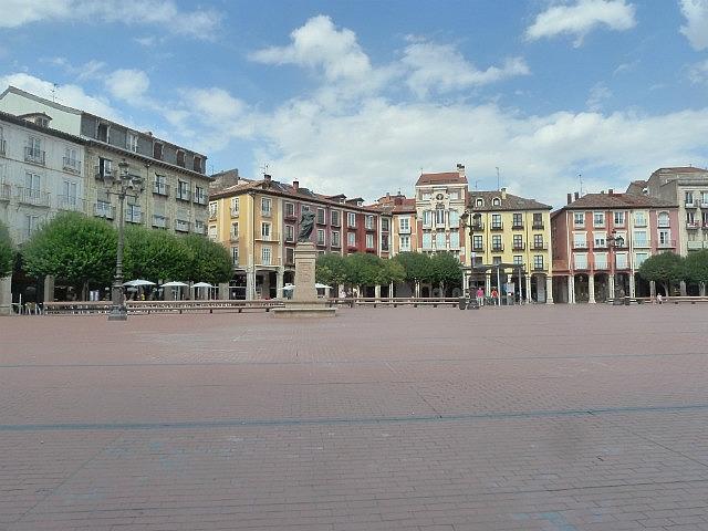 Burgos Plaza - deserted for Siesta
