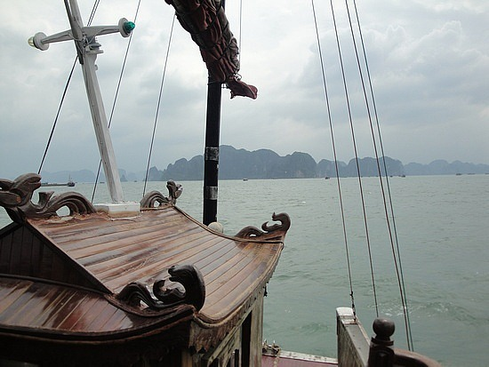 Heading out to Halong Bay