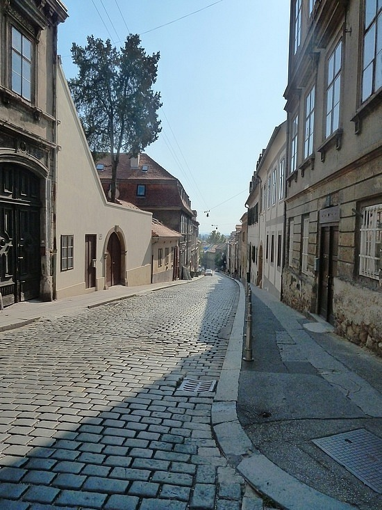 Cobble stoned streets