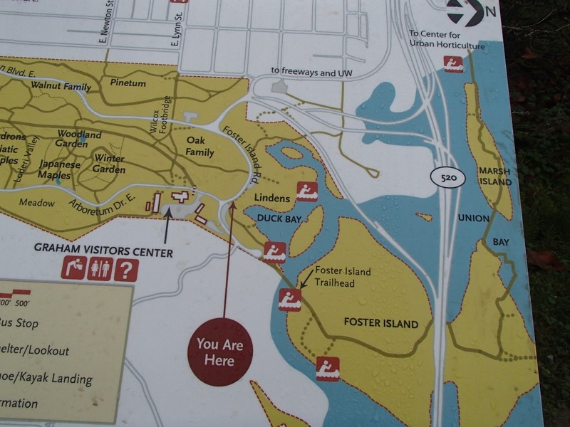 Map of our walk