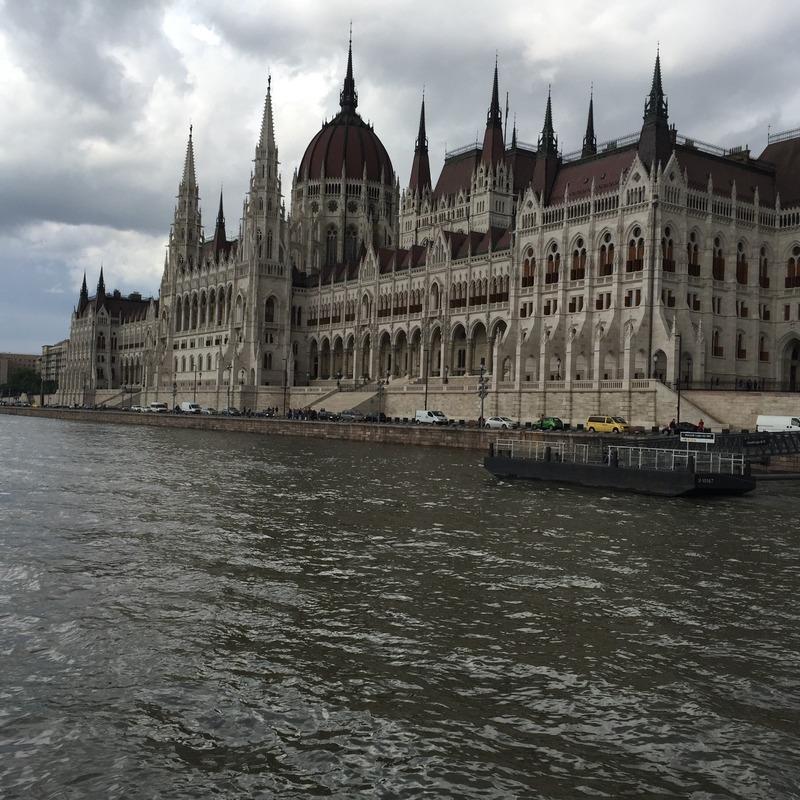 Parliament spires
