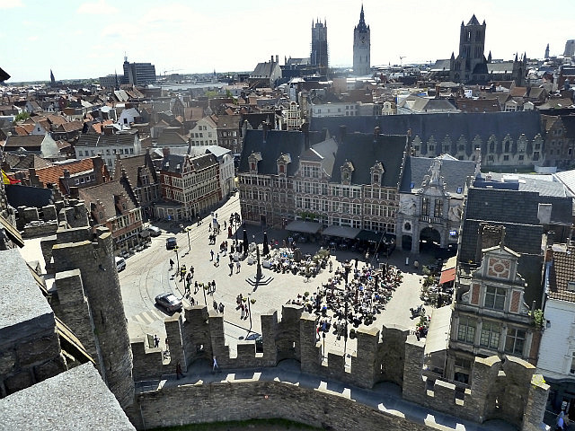 View from castle of 3 towers
