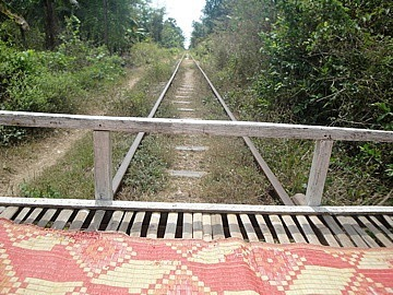 Front of the Bamboo Train