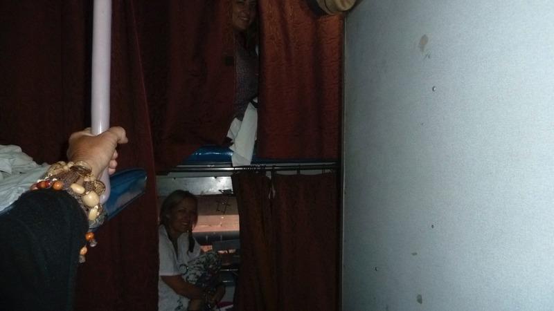 Kerryn peeking out