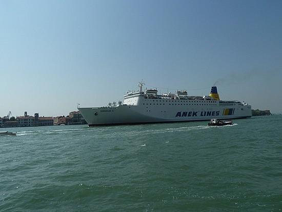 Big Greek ship