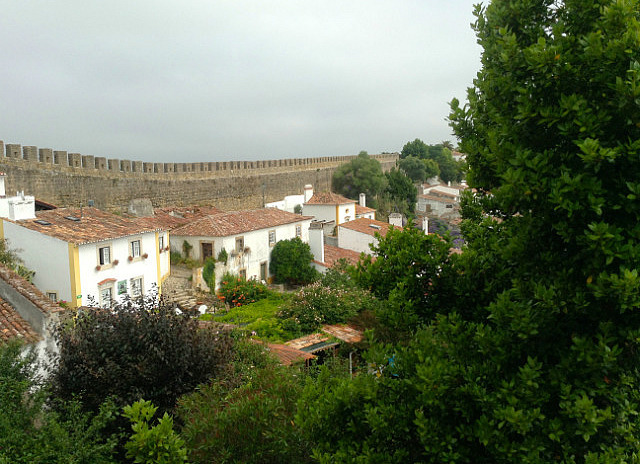 View from walls