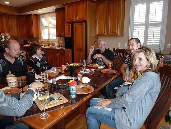 Lunch with the Blissard Family
