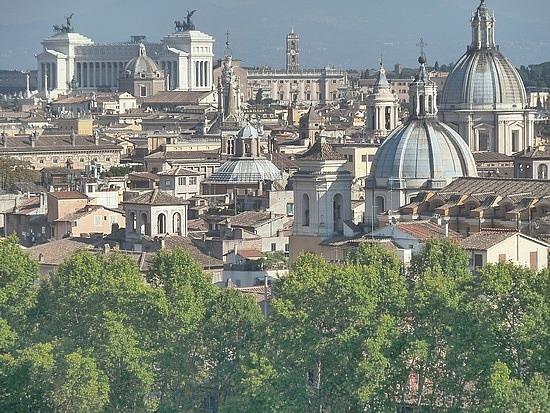 Rome's wonderful skyline