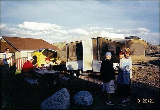 Campground in Gardiner