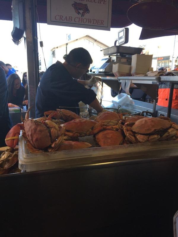 Crab at Fishermans wharf