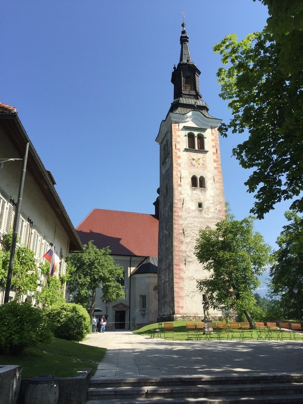 Church on the island