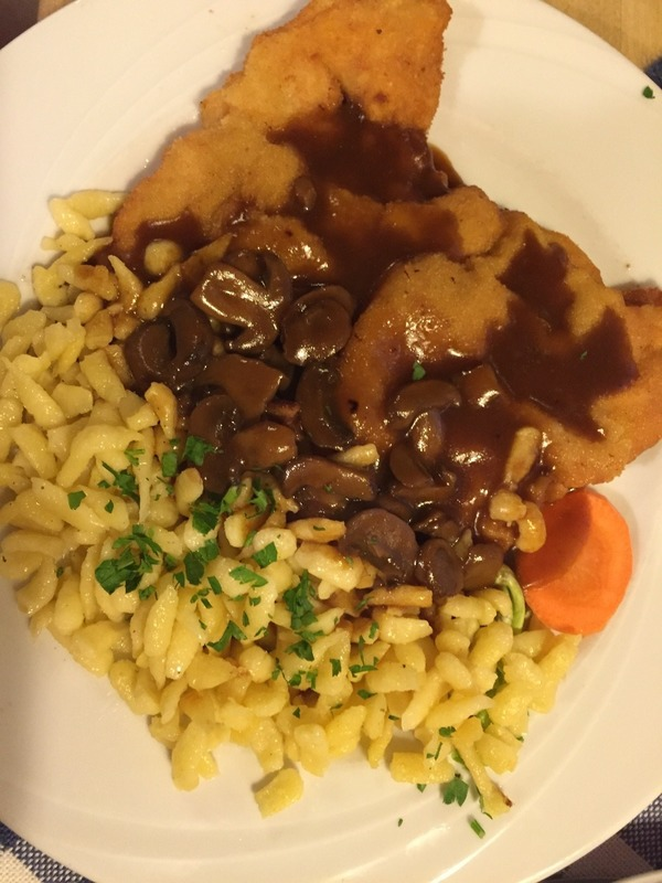 Mum's  schnitzel
