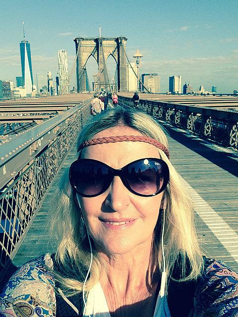 Selfie at Broklyn Bridge