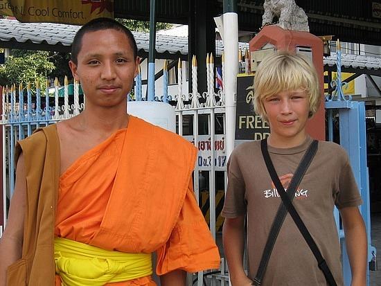 Nath & a monk