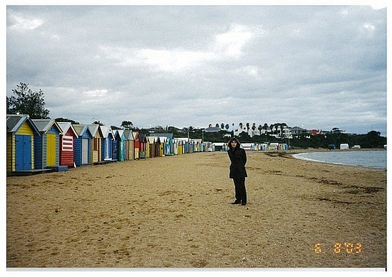 Change sheds of Brighton