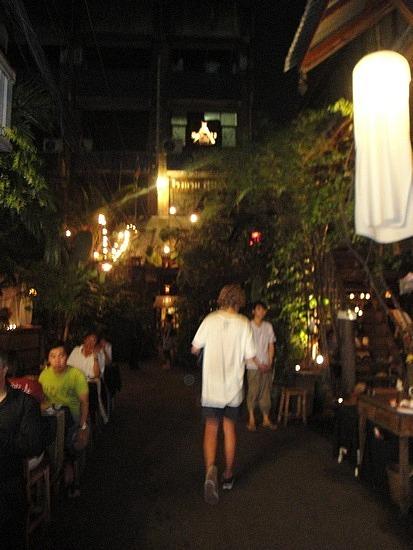 Alley in fromt of Suk 11 Hostel